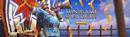 Minigame Spotlight head banner