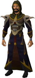 Necromancer outfit equipped