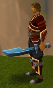 Off-hand rune ceremonial sword II equipped