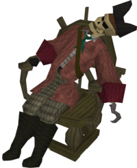Pirate captain (shipwreck)
