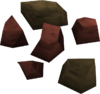 Red ore detail