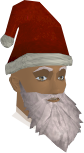 Santa hat with beard chathead