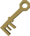 Warm key detail