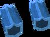 Blue shield key detail