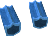 Blue shield key