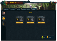 Community (Going Like Clockwork) interface 2