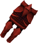 Dragon plateskirt detail
