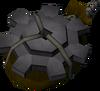 Explosive gear detail