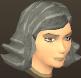 Female hair layered flip