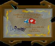 Nuff's certificate - read