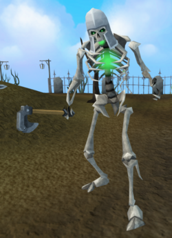 Skeleton (Temple Trekking, helmet)