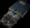 Tribal trousers (purple) detail