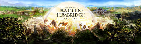 Battle of Lumbridge banner