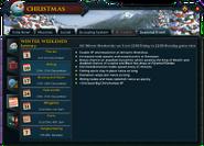 Christmas 2016 (Winter Weekends) interface