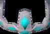 Enchanted water tiara detail