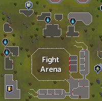 Fight Arena (location) map