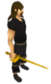 Golden chaotic rapier equipped.png