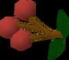 Grapes of Zamorak detail