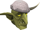 Guard goblin Saragorgak chathead