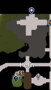 Hefin Agility Course map