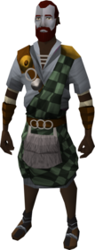 Highland outfit equipped (male)