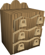 Oak-drawers