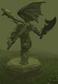 Plain Zamorak statue.png