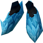 Attuned crystal boots detail
