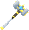 Augmented superior Statius's warhammer detail