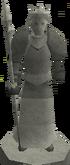 King Roald II statue