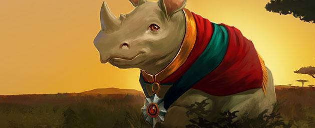 Royal Rhino news header