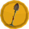 Shovel sword override token detail