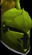 Steel heraldic helm (Jogre) chathead