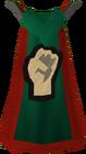 Strength cape detail
