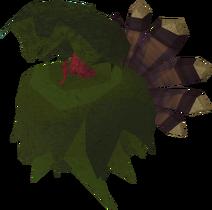 Turkey in bush