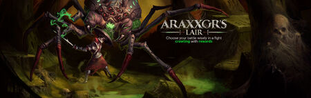 Araxxor head banner