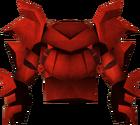 Dragon platebody detail
