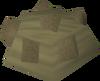 Dwarven rock cake (cooled) detail