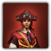 Eastern Captain's outfit icon (male)