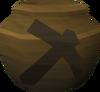 Fragile mining urn (nr) detail