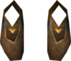 Golden warpriest of Armadyl boots detail