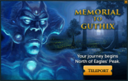 Memorial to Guthix popup