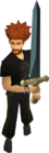 Rune 2h sword equipped old
