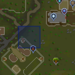 Sinkholes (Ranging Guild) location
