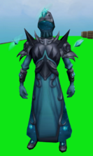 Starfury armour (mage) equipped