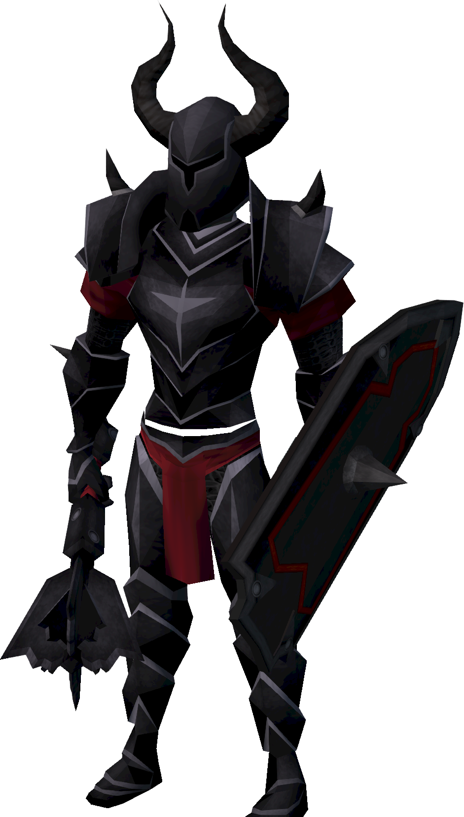 how to get black knight armor runescape