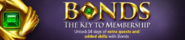 Bonds advert lobby banner