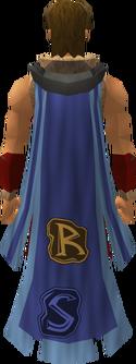 Clan cloak equipped