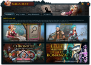 Mega May (Summary) interface