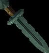 Off-hand adamant sword detail